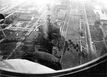 Жуткое фото ЧАЭС после взрыва